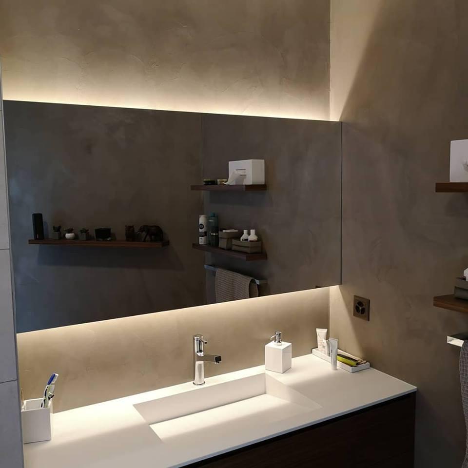 Beton Ciré Salle De Bain béton ciré salle de bain – look home